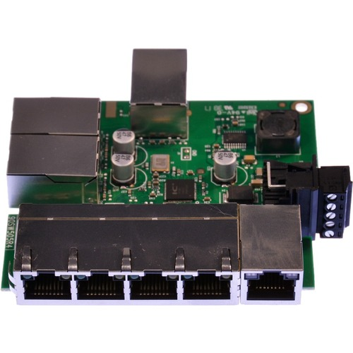 Brainboxes Industrial Embeddable 8 Port Ethernet Switch 300/500