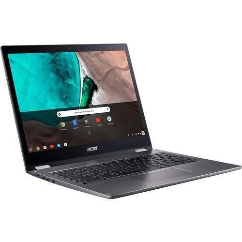 "Acer Spin 13 13.5"" 2-in-1 Chromebook Intel Core i5 8GB RAM 64GB eMMC Gray - 8th Gen i5-8250U Quad-core - Touchscreen - Intel UHD Graphics 620 - In-plane Switching Technology - Chrome OS - 10 hr battery life"