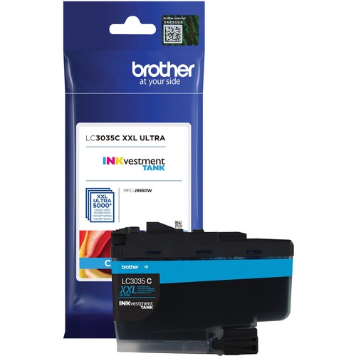 LC3035C CYAN INK CARTRIDGE F/ MFC J995DW MFC J995DWXL ULTRA HY 300/500