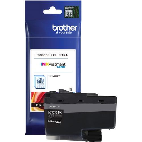 LC3035BK BLACK INK CARTRIDGE F/ MFC J995DW MFC J995DWXL ULTRA HY 300/500