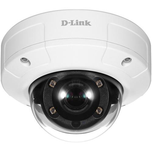 D Link Vigilance 2 Megapixel HD Network Camera   Color   Dome   TAA Compliant 300/500