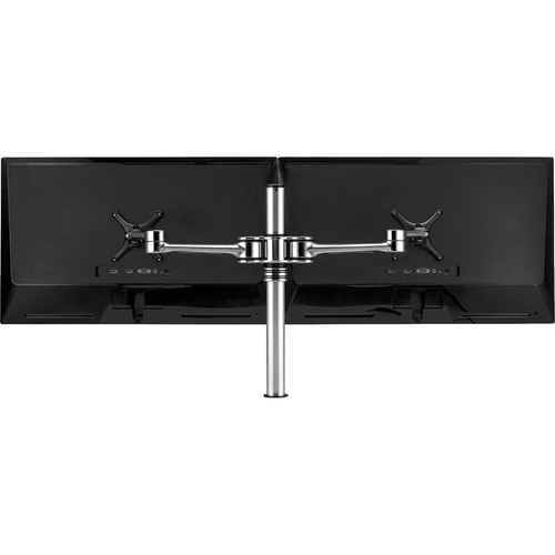 Atdec dual monitor desk mount - Flat and curved monitors up to 32in - VESA 75x75, 100x100