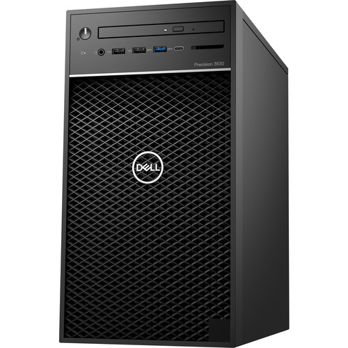 Dell Precision 3630 Workstation Intel Core i7 16GB RAM 1TB HDD 256GB SSD - 8th Gen i7-8700K Hexa-core - NVIDIA Quadro P1000 4 GB Graphics - Intel Optane Memory Ready - Tower Form Factor - Windows 10 Pro