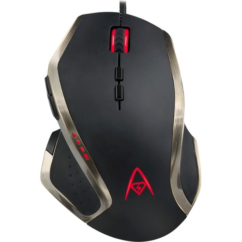 Adesso Multi Color 9 Button Programmable Gaming Mouse 300/500