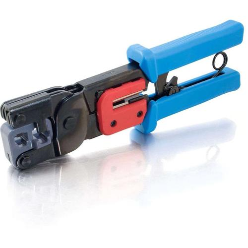 C2G RJ11/RJ45 Crimping Tool With Cable Stripper 300/500
