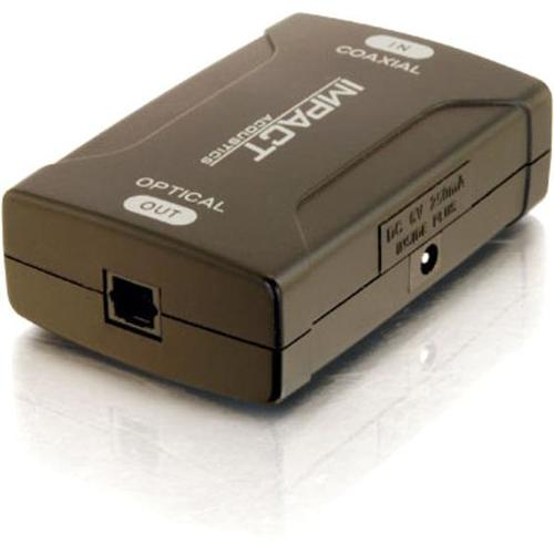 C2G Coaxial To TOSLINK Optical Digital Audio Converter 300/500