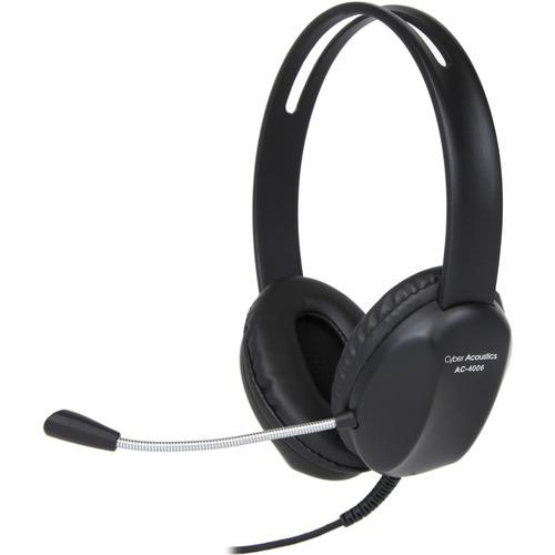 Cyber Acoustics AC 4006 USB Stereo Headset 300/500