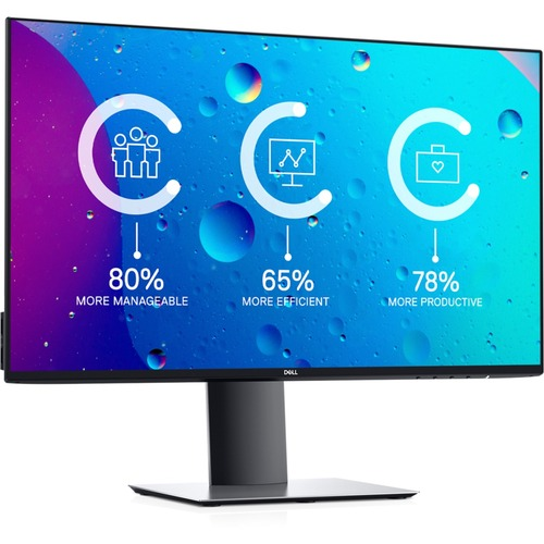 """Dell UltraSharp 24"""" Monitor  -  1920 x 1080 Full HD display - 60Hz refresh rate - In-plane Switching Technology - 5 ms response time - Flicker Free screen w/ ComfortView"""
