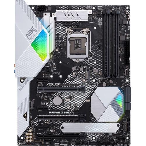 Asus Prime Z390 A Desktop Motherboard   Intel Chipset   Socket H4 LGA 1151 300/500