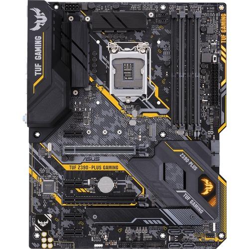 TUF Z390 PLUS GAMING (Wi Fi) Desktop Motherboard   Intel Chipset   Socket H4 LGA 1151 300/500