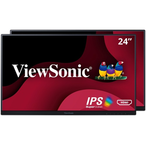 "Viewsonic VA2456 MHD H2 23.8"" Full HD LED LCD Monitor   16:9   Black 300/500"