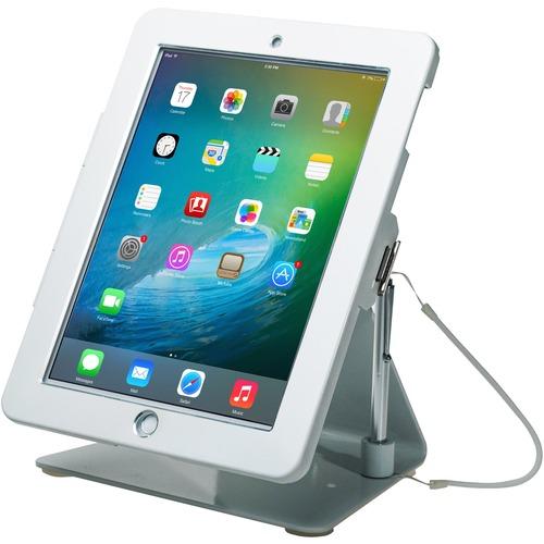 CTA Digital Desk Mount for iPad, iPad Air, iPad Pro - White