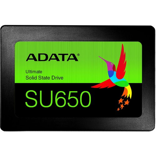 "Adata Ultimate SU650 ASU650SS-120GT-R 120 GB Solid State Drive - 2.5"" Internal - SATA (SATA/600) - Black"