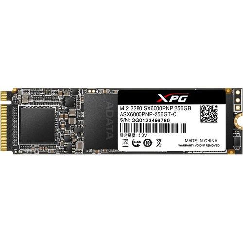 XPG SX6000 Pro ASX6000PNP 256GT C 256 GB Solid State Drive   M.2 2280 Internal   PCI Express (PCI Express 3.0 X4) 300/500