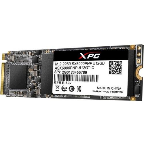 XPG SX6000 Pro ASX6000PNP-512GT-C 512 GB Solid State Drive - M.2 2280 Internal - PCI Express (PCI Express 3.0 x4)