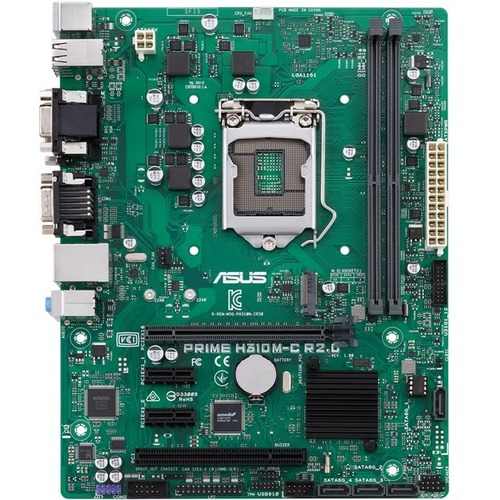 Asus Prime H310M-C R2.0/CSM Desktop Motherboard - Intel Chipset - Socket H4 LGA-1151