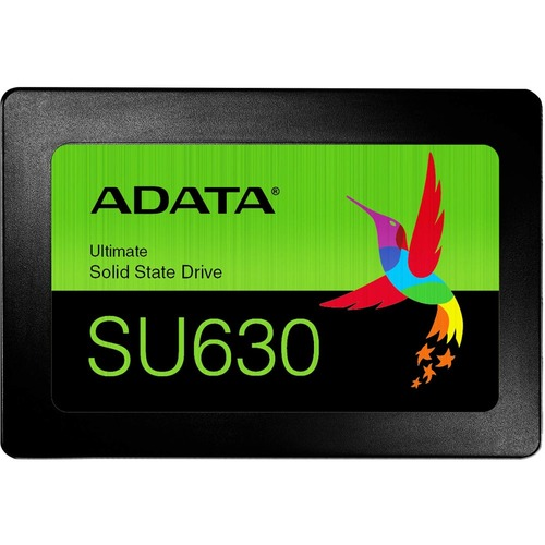 "Adata Ultimate SU630 ASU630SS-960GQ-R 960 GB Solid State Drive - 2.5"" Internal - SATA (SATA/600) - Black"