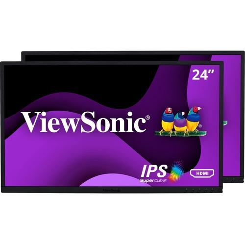 "Viewsonic VG2448_H2 24"" Full HD WLED LCD Monitor - 16:9"