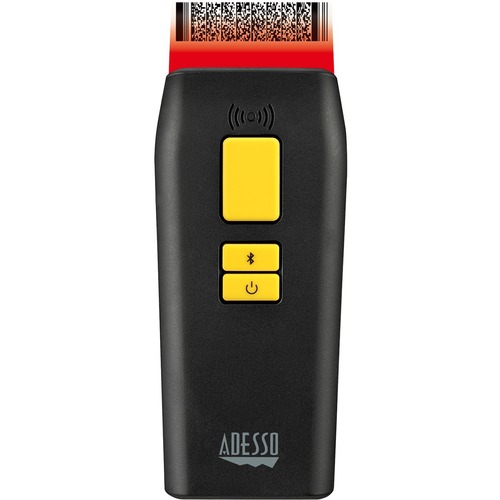 Adesso NuScan 3500TB Bluetooth Mobile Waterproof Antimicrobial 2D Barcode Scanner