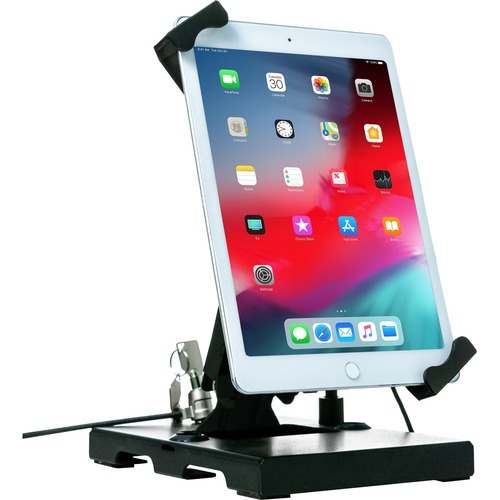CTA Digital Flat-Folding Tabletop Security Stand for 7-14 Inch Tablets
