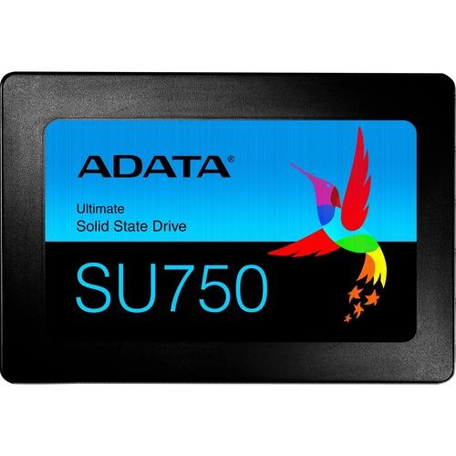 "Adata Ultimate SU750 ASU750SS-512GT-C 512 GB Solid State Drive - 2.5"" Internal - SATA (SATA/600) - Black"