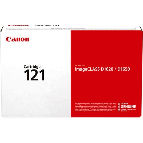 Canon 121 Original Toner Cartridge   Black 300/500