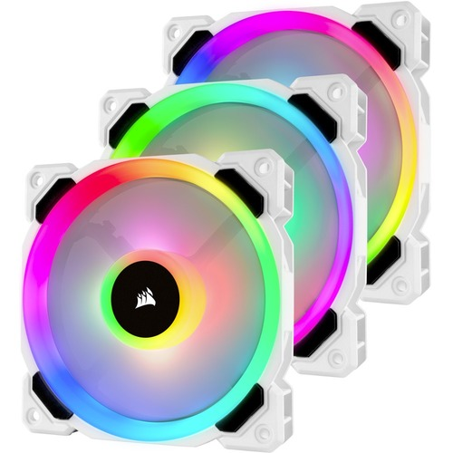 LL120 RGB LED 120MM PWM TRIPLE PACK WITH LIGHTING NODE PRO 300/500