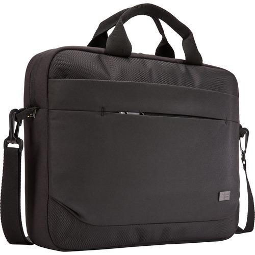 "Case Logic Advantage ADVA-114 BLACK Carrying Case (Attaché) for 10"" to 14.1"" Notebook - Black"