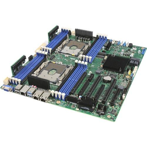 Intel S2600STBR Server Motherboard - Intel Chipset - Socket P - Intel Optane Memory Ready - SSI EEB