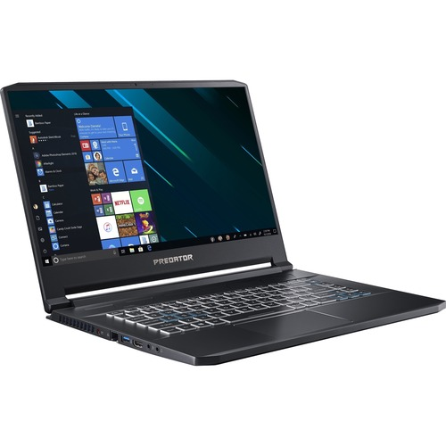 "Acer Predator Triton 500 PT515-51 PT515-51-73Z5 15.6"" Gaming Notebook - Full HD - 1920 x 1080 - Intel Core i7 i7-9750H Hexa-core (6 Core) 2.60 GHz - 32 GB RAM - 1 TB SSD - Black"