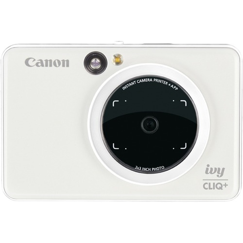 Canon IVY CLIQ+ Instant Digital Camera - Pearl White