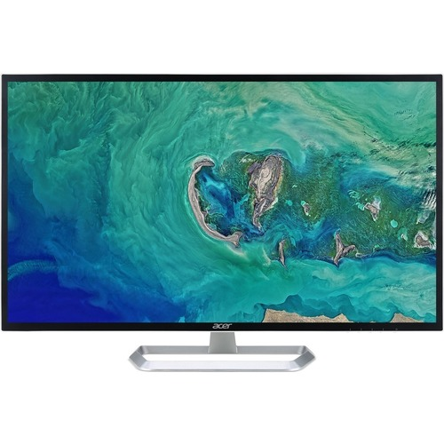 "Acer EB321HQU C 31.5"" WQHD LED LCD Monitor - 16:9 - Black"