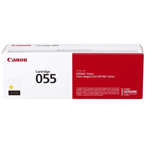 Canon 055 Original Toner Cartridge - Yellow