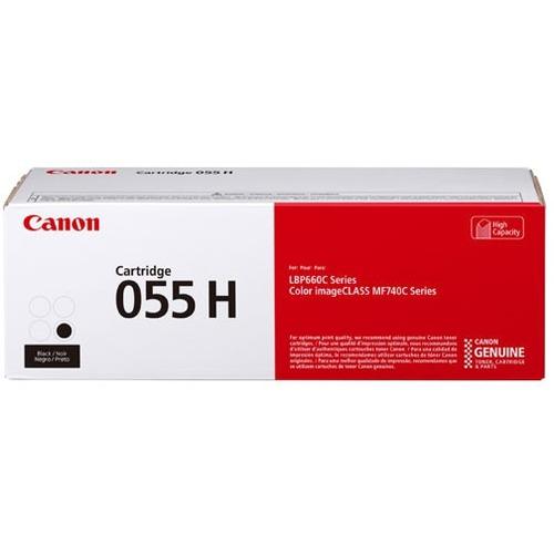 Canon 055 Original Toner Cartridge   Black 300/500