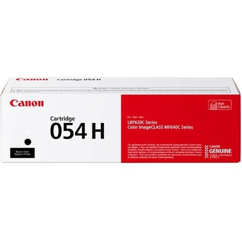 Canon 054H Original Toner Cartridge   Black 300/500