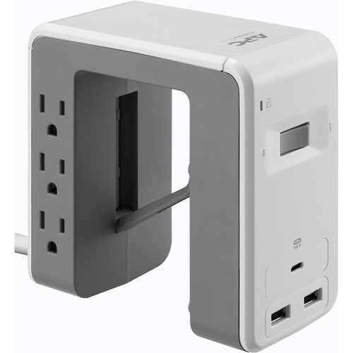 APC by Schneider Electric SurgeArrest Essential 6-Outlet Surge Suppressor/Protector