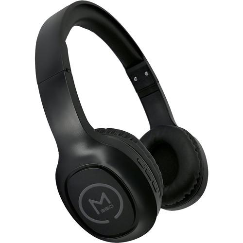 Morpheus 360 Tremors Wireless On-Ear Headphones - Bluetooth 5.0 Headset with Microphone - HP4500B