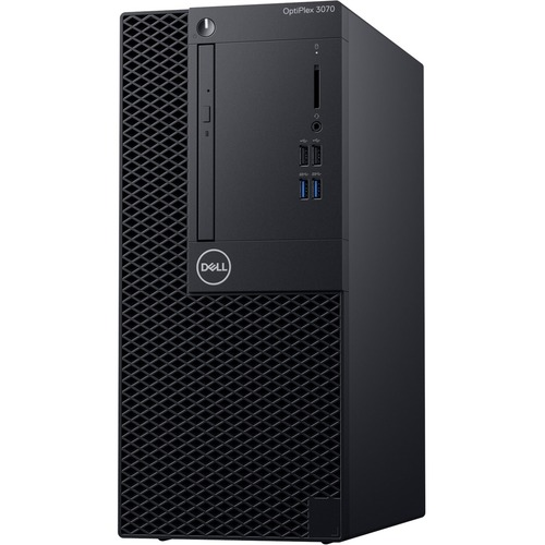 Dell OptiPlex 3000 3070 Desktop Computer - Intel Core i5 9th Gen i5-9500 3 GHz - 4 GB RAM DDR4 SDRAM - 500 GB HDD - Tower
