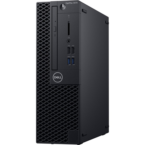Dell OptiPlex 3000 3070 Desktop Computer - Intel Core i5 9th Gen i5-9500 3 GHz - 8 GB RAM DDR4 SDRAM - 1 TB HDD - Small Form Factor