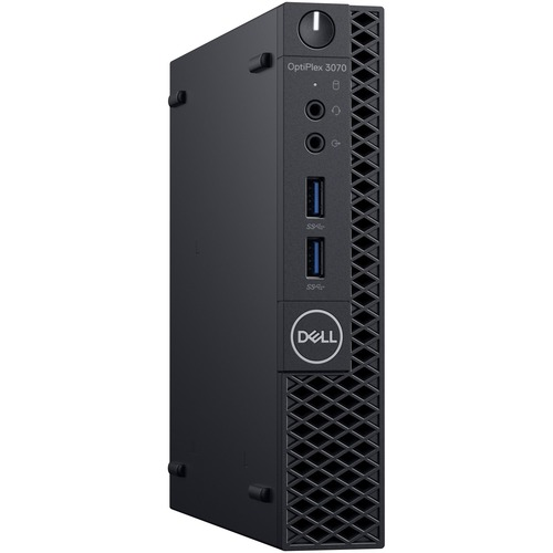 Dell OptiPlex 3000 3070 Desktop Computer - Intel Core i3 9th Gen i3-9100T 3.10 GHz - 8 GB RAM DDR4 SDRAM - 128 GB SSD - Micro PC