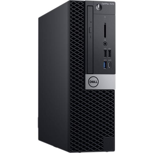 Dell OptiPlex 7000 7070 Desktop Computer - Core i7 i7-9700 - 16GB RAM - 256GB SSD - Small Form Factor