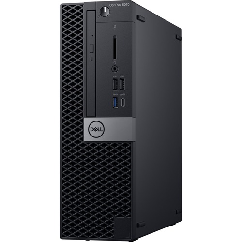 Dell OptiPlex 5000 5070 Desktop Computer - Intel Core i7 9th Gen i7-9700 3 GHz - 8 GB RAM DDR4 SDRAM - 500 GB HDD - Small Form Factor