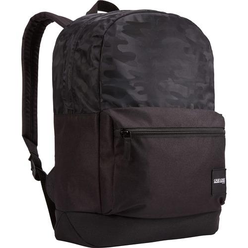 Case Logic Founder CCAM-2126-BLACKCAMO Carrying Case (Backpack) Accessories, Bottle, Electronic Equipment, Pen, Book, Folder - Black Camo