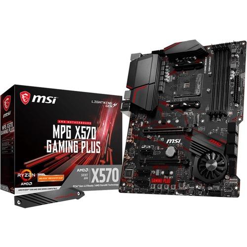 MSI MPG X570 GAMING PLUS Desktop Motherboard - AMD Chipset - Socket AM4 - ATX