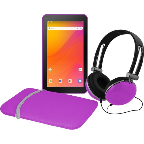 "Ematic EGQ378PR Tablet - 7"" - Android 8.1 Oreo (Go Edition) - Purple"