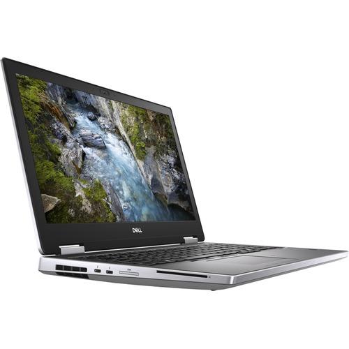 """Dell Precision 7000 7540 15.6"""" Mobile Workstation - 1920 x 1080 - Intel Core i7 (9th Gen) i7-9850H Hexa-core (6 Core) 2.60 GHz - 8 GB RAM - 512 GB SSD - Silver"""