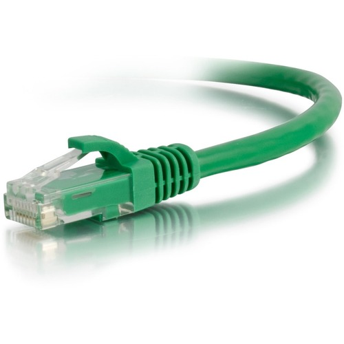 C2G 2ft Cat6a Snagless Unshielded (UTP) Network Patch Ethernet Cable-Green