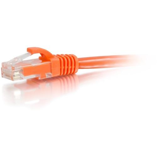 C2G 7ft Cat6a Snagless Unshielded (UTP) Network Patch Ethernet Cable-Orange