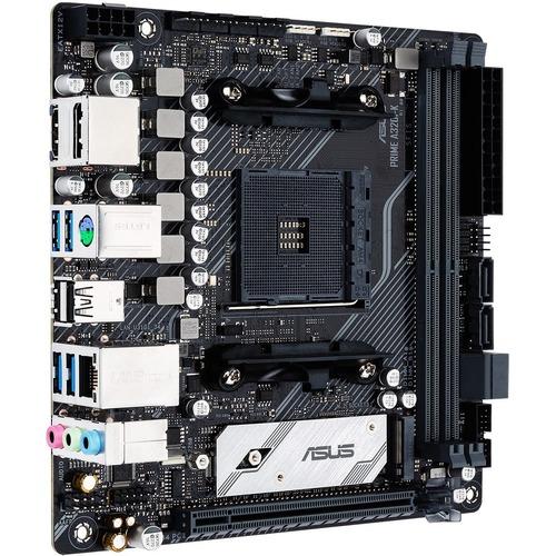 Asus Prime A320I K Desktop Motherboard   AMD Chipset   Socket AM4   Mini ITX 300/500