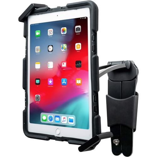 CTA Digital WorkSpace Desktop/Wall Mount for iPad (7th Generation), iPad mini, iPad Air, iPad Pro, iPad (6th Generation), Tablet - Black